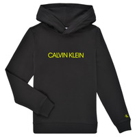 Vêtements Enfant Sweats Calvin Klein Jeans ZOPLINA Noir