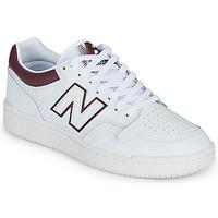 Chaussures Homme Baskets basses New Balance 480 Blanc / Bordeaux