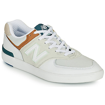 Chaussures Homme Baskets basses New Balance AM574 Blanc
