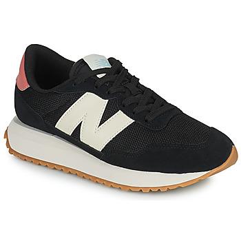 Chaussures Femme Baskets basses New Balance 237 Noir / Blanc / Rose