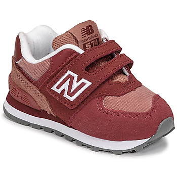 Chaussures Fille Baskets basses New Balance 574 Rose