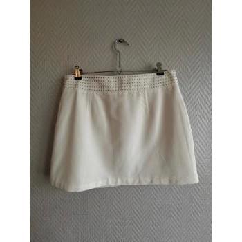 Vêtements Femme Jupes Morgan Jupe écru - T38 - Morgan Blanc