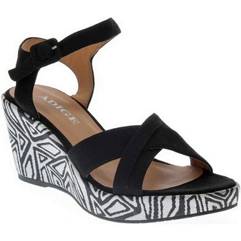 Chaussures Femme Sandales et Nu-pieds Adige FLORA NOIR