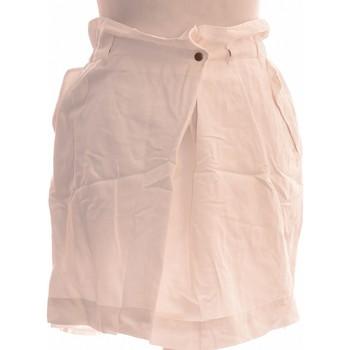 Vêtements Femme Jupes Chattawak Jupe Courte  38 - T2 - M Blanc