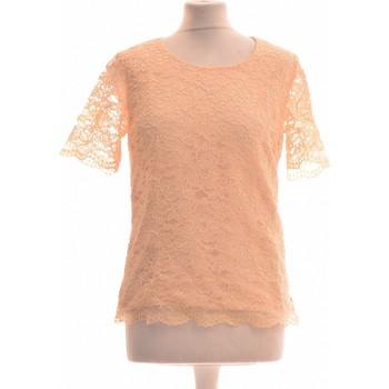 Vêtements Femme Tops / Blouses Weill Top Manches Courtes  38 - T2 - M Orange