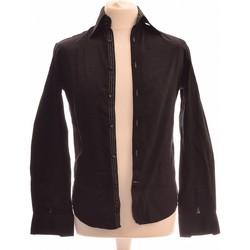 Vêtements Homme Chemises manches longues Celio Chemise Manches Longues  36 - T1 - S Noir