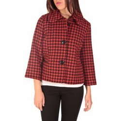 Blousons Vero Moda ODA Short Jacket Noir/Rouge