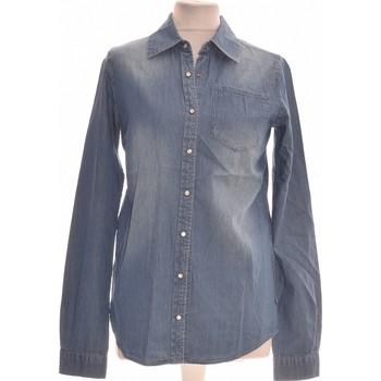 Vêtements Femme Chemises / Chemisiers School Rag Chemise  34 - T0 - Xs Bleu