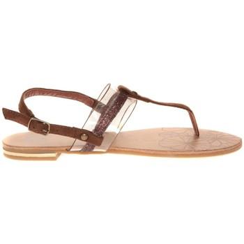 Chaussures Femme Sandales et Nu-pieds Cassis Côte d'Azur Hugolin Camel Marron