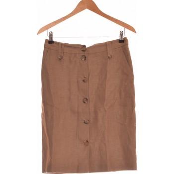 Vêtements Femme Jupes 1.2.3 Jupe Mi Longue  36 - T1 - S Marron