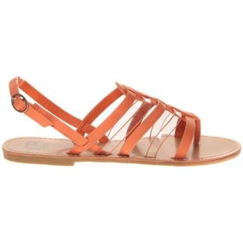 Chaussures Femme Sandales et Nu-pieds Cassis Côte D'azur Hanako Orange Orange