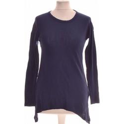 Vêtements Femme Tops / Blouses Zara Top Manches Longues  36 - T1 - S Bleu