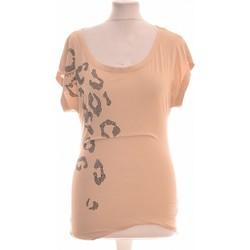 Vêtements Femme Tops / Blouses Miss Sixty Top Manches Courtes  34 - T0 - Xs Beige