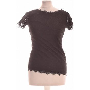 Vêtements Femme Tops / Blouses Bonobo Top Manches Courtes  34 - T0 - Xs Noir
