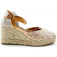 Chaussures Femme Espadrilles Kanna 9211 Oro Rosa