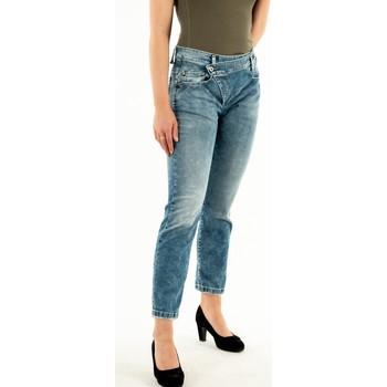 Vêtements Femme Jeans droit Please p0k5 bq2w3r 1670 blu denim bleu