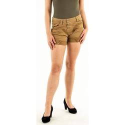 Vêtements Femme Shorts / Bermudas Please p17h cv94u1 1823 camel beige