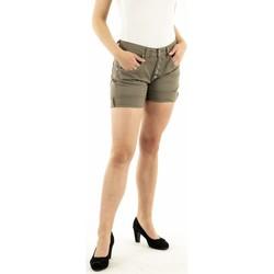 Vêtements Femme Shorts / Bermudas Please p88a cv9n3n 3760 nuovo kaki vert
