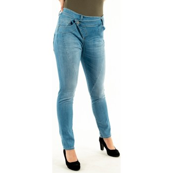 Vêtements Femme Jeans slim Please p0qc bq2e50 1670 blu demin bleu