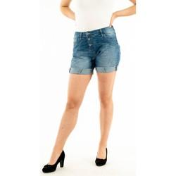 Vêtements Femme Shorts / Bermudas Please p17h bq2e02 1670 blu denim bleu
