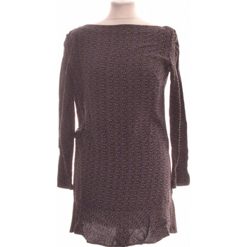 Vêtements Femme Robes courtes Antik Batik Robe Courte  34 - T0 - Xs Violet
