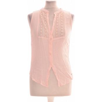 Vêtements Femme Chemises / Chemisiers Abercrombie Chemise  36 - T1 - S Rose