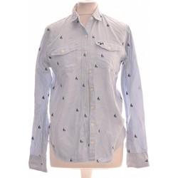 Vêtements Femme Chemises / Chemisiers Abercrombie Chemise  34 - T0 - Xs Bleu
