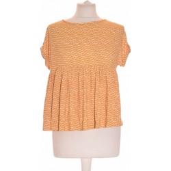 Vêtements Femme Tops / Blouses La Redoute Top Manches Courtes  36 - T1 - S Jaune