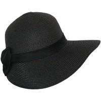 Accessoires textile Femme Chapeaux Chapeau-Tendance Chapeau cloche Ramona Noir