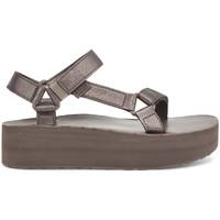 Chaussures Femme Sandales et Nu-pieds Teva Flatform Universal Leather Women's Metallic Bronze