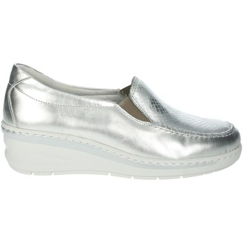 Chaussures Femme Mocassins Notton 2404 Argent