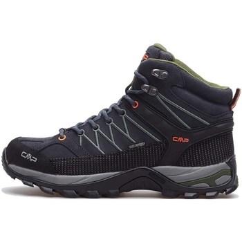 Chaussures Homme Randonnée Cmp Rigel Mid WP Noir