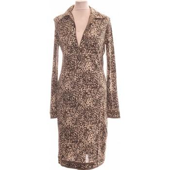 Vêtements Femme Robes longues Apostrophe Robe Mi-longue  36 - T1 - S Gris