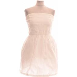 Vêtements Femme Robes courtes Bershka Robe Courte  40 - T3 - L Blanc
