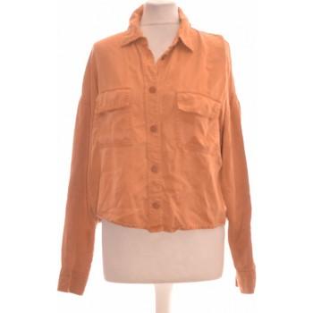 Vêtements Femme Chemises / Chemisiers Bershka Chemise  38 - T2 - M Jaune