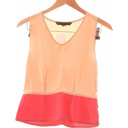 Vêtements Femme Débardeurs / T-shirts sans manche Marc Jacobs Débardeur  34 - T0 - Xs Beige
