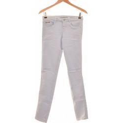 Vêtements Femme Jeans slim Bershka Jean Slim Femme  34 - T0 - Xs Bleu