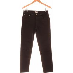 Vêtements Femme Jeans droit Zara Jean Droit Femme  34 - T0 - Xs Noir