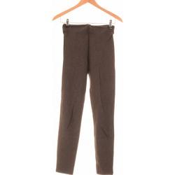 Vêtements Femme Pantalons Zara Pantalon Droit Femme  36 - T1 - S Orange
