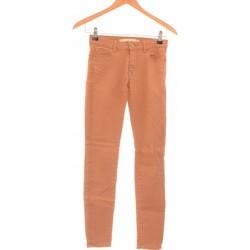 Vêtements Femme Jeans slim 2026 Jean Slim Femme  34 - T0 - Xs Marron