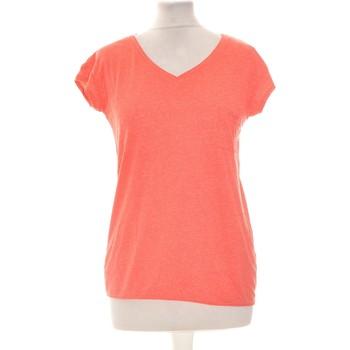 Vêtements Femme T-shirts manches courtes Creeks Top Manches Courtes  34 - T0 - Xs Rouge