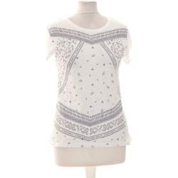 Vêtements Femme Tops / Blouses Creeks Top Manches Courtes  34 - T0 - Xs Blanc