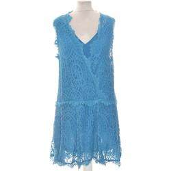 Vêtements Femme Robes courtes Free People Robe Courte  38 - T2 - M Bleu