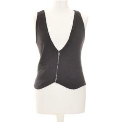 Vêtements Femme Tops / Blouses Grain De Malice Débardeur  36 - T1 - S Noir