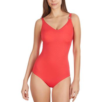 Vêtements Femme Maillots de bain 1 pièce Selmark Maillot de bain 1 pièce shapewear préformé Gofrada Rouge