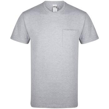 Vêtements T-shirts manches courtes Gildan GD019 Gris chiné