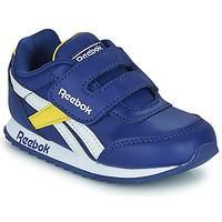 Chaussures Enfant Baskets basses Reebok Classic REEBOK ROYAL CLJOG 2  KC Bleu / Jaune / Blanc