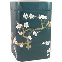 Maison & Déco Paniers, boites et corbeilles Zen Et Ethnique Petite boite métallique Jade pour le thé Contenance 100 gr Vert