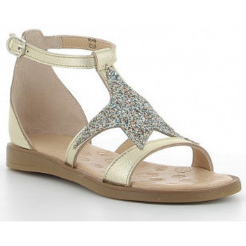 Chaussures Fille Sandales et Nu-pieds Acebo's 9895-GE Doré