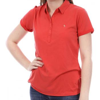 Vêtements Femme Polos manches courtes Sun Valley SV-ARAWA Rouge